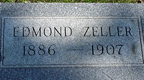 Edmond Zeller's Headstone