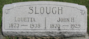 John & Louetta (Christian) Slough