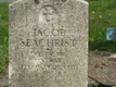 Jacob Seachrist's Headstone