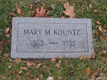 Mary Limberger Kountz's Headstone