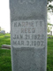 Harriett A Humphrey Reed's Headstone