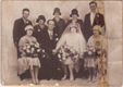 Wedding of Elsie Maud Abraham to Henry Herbert Parker